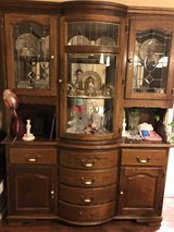 Belgium made china cabinet. It two pieces. in Hopkinsville, Kentucky