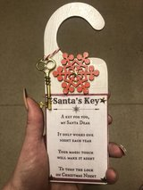 Handmade Santa Key Door Hangers in Lakenheath, UK