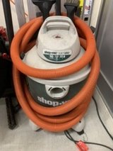 10 Gallon Shop Vac with commercial grade 35' hose & accessories in Okinawa, Japan