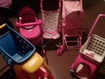 Baby Doll Strollers and Shopping Carts in Yorkville, Illinois