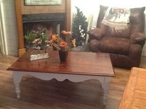 Farmhouse coffee table in Houston, Texas