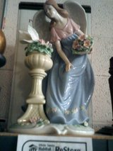 Hand painted porcelain angel in Alamogordo, New Mexico
