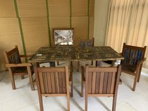 New dining table w/ 6 chairs in Okinawa, Japan