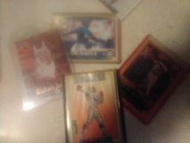 Autographed baseball and basketball cards in Yucca Valley, California