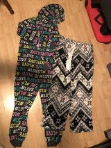 Junior Comfy PJs Medium & Large in Joliet, Illinois