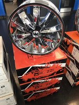 18inch Mazzi rims in Fort Campbell, Kentucky