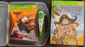 Leap Frog Tag Reader, Case, and 16 books in Alamogordo, New Mexico