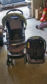 stroller & carseat in Camp Lejeune, North Carolina