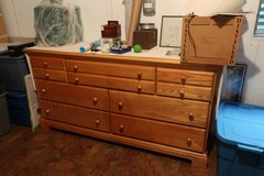 Solid Oak Broyhill Dresser in Naperville, Illinois