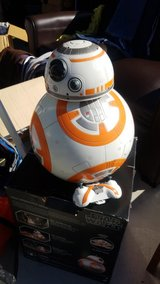 BB-8 Droid Robot in Camp Pendleton, California