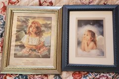 Lot of 2 framed Angel prints *PRICE DROPPED* in Fort Campbell, Kentucky
