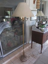 """Vintage MARBLE BASE Torchiere Floor lamp 64"""" in Fort Bliss, Texas"""