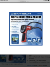 NEW Cen-tech 2.4 LCD inspection camera in Fort Campbell, Kentucky