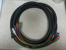 Heavy Duty Audio/Video Cables 12 Ft. in Houston, Texas