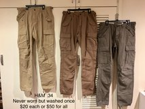 H&M cargo pant (34) in Okinawa, Japan
