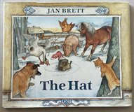 The Hat by Jan Brett Hardcover w/Dust Jacket in Okinawa, Japan