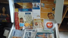 Exercise /Weight Loss Program  w/DVD'S  & instructional information& hand weights in St. Charles, Illinois