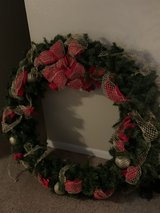4ft Balsam Hill wreath retail $329 in Pearland, Texas