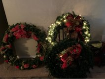 3ft and 4ft Balsam Hill wreath, retail $329 & $279 in Pearland, Texas