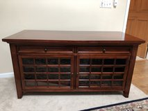 Real Cherry Wood TV Stand in Chicago, Illinois