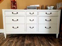 Refinished 9 drawer dresser  / TV Console in Naperville, Illinois