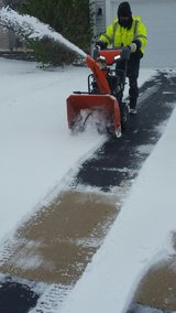 snow removal (residential ) in Naperville, Illinois