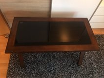 desk with black glass in Ramstein, Germany