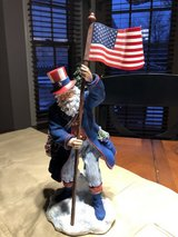 New Patriotic Santa Signed by Pipka - The Gallery Collection in Chicago, Illinois