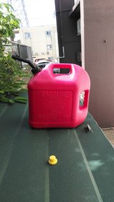 5 gallon gasoline containers in Okinawa, Japan
