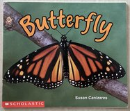 Scholastic Butterfly Book in Okinawa, Japan