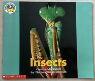 Scholastic Insects Book in Okinawa, Japan