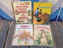 Golden Books: Jokes & Riddles, Rumpelstiltskin, Chelli & Velveteen Rabbit in Warner Robins, Georgia