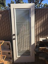Nice New Exterior Glass Door with privacy in Yucca Valley, California