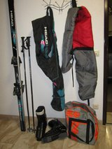 Downhill Skis, Poles, and Boots in Stuttgart, GE