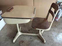 Vintage Child's School Desk in Naperville, Illinois