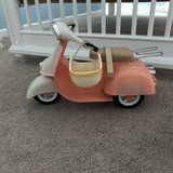 Toy moped in Beaufort, South Carolina