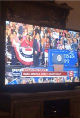 60 inch TV with remote in Fort Campbell, Kentucky