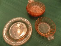 PINK DEPRESSION GLASS in Fort Campbell, Kentucky