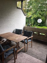 patio table with 4 chairs in Stuttgart, GE