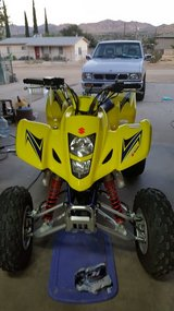 2008 Suzuki 400 Quadsport in Yucca Valley, California