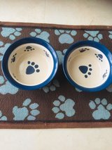 food and water bowls for Med size dog in Okinawa, Japan