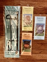 Garden Stand and Flags - Brand New in Joliet, Illinois