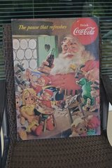 Coca Cola Santa Poster in Alamogordo, New Mexico