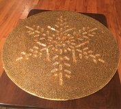 Beaded Charger/Mat in Shorewood, Illinois
