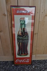 Framed Coca Cola Print in Alamogordo, New Mexico