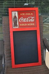 Coca Cola Chalkboard in Alamogordo, New Mexico