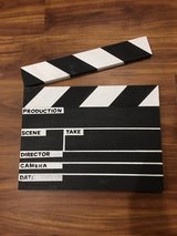 Clapperboard Wall Art in Chicago, Illinois