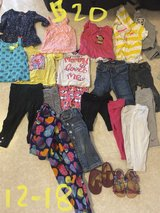 12 to 18 month baby girl clothes 22 pieces! in Ellsworth AFB, South Dakota