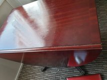 FOLD DOWN DINNING KITCHEN TABLE SEATS 8 NO CHAIRS in Lakenheath, UK