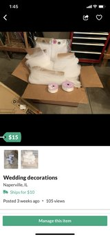 400 plus yards of tulle and ribbon in Naperville, Illinois